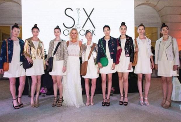 Barbie Simmon y su primer desfile con su colección cápsula B&S para Sofía Ferrari
