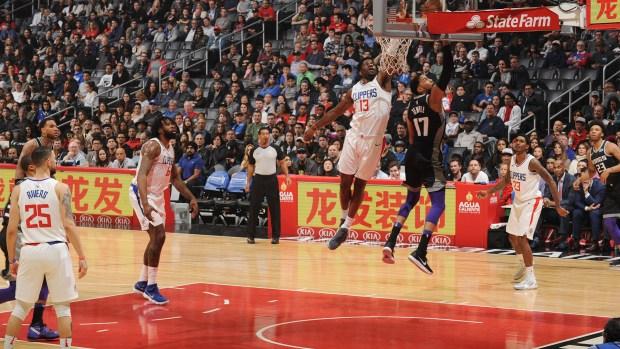 Wilson, con la 13 de los Clippers (AFP)