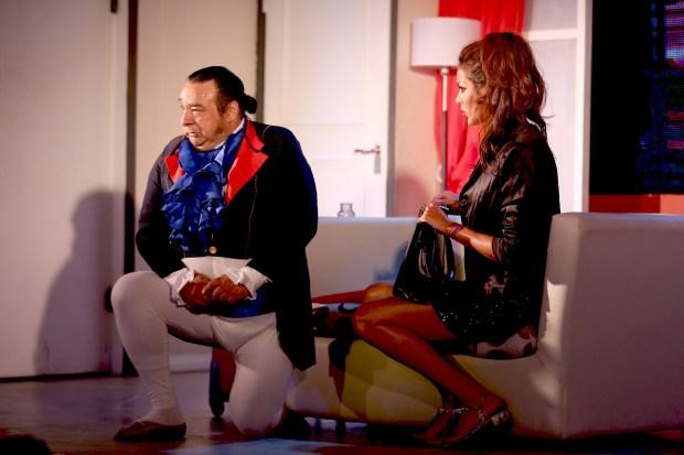 Gabriel Almirón y Pamela Sosa
