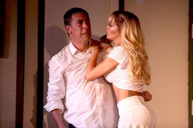 René Bertrand y Claudia Ciardone