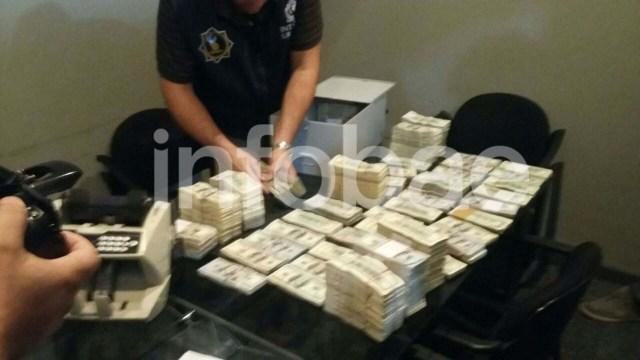 En la caja de seguridad que Balcedo tenía en Montevideo se encontraron USD 6 millones