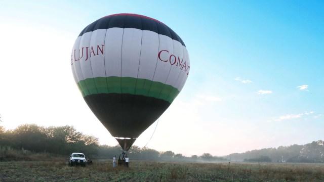 Un paseo romántico al amanecer en globo para dos o más personas (Lihue Althabe)