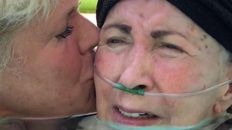 """El dolor de Xuxa por la muerte de su mamá, Aldinha: """"Mi pájaro voló"""" - Infobae"""