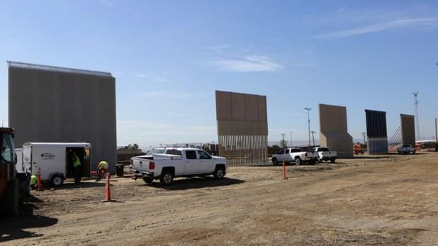 La construcción de un muro entre Estados Unidos y México es otro proyecto de Trump