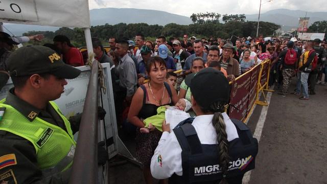 A junio de este año había 8.209 venezolanas embarazadas en Colombia.