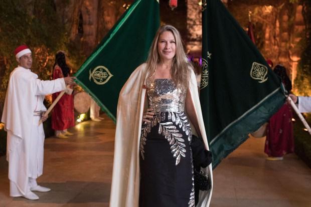 La empresaria Ana Rusconi, viuda de Luis Rusconi y madre Juan Rusconi, fue otra de las invitadas de lujo en la Oriental Party