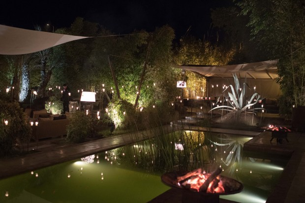 Bo Zin, en Marrakech, es un restaurante con platos de influencia francesa, marroquí, japonesa y tailandesa