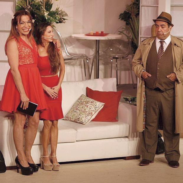 Llegó a la ciudad para hacer Mi vecina favorita, la comedia de Lizy Tagliani que se presenta en el Lido, con dos funciones de martes a domingos.