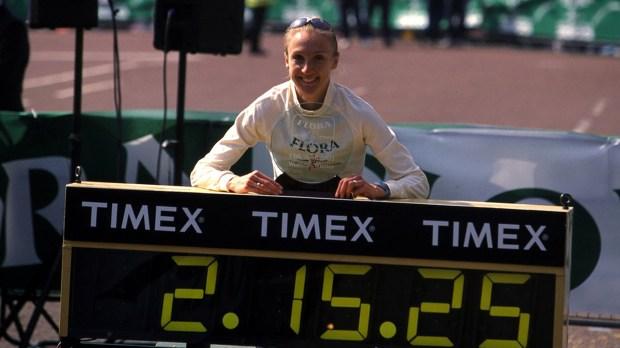 Paula Radcliffe mantiene la mejor marca entre las mujeres desde 2003