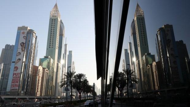 El Gevora es el hotel más alto del mundo,con 356 metros (AFP PHOTO / KARIM SAHIB)
