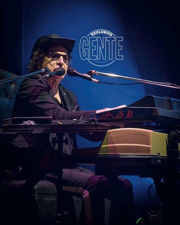 Charly García dio un concierto sold out en el Coliseo. (Foto: Julio Ruiz y Sol Testa)