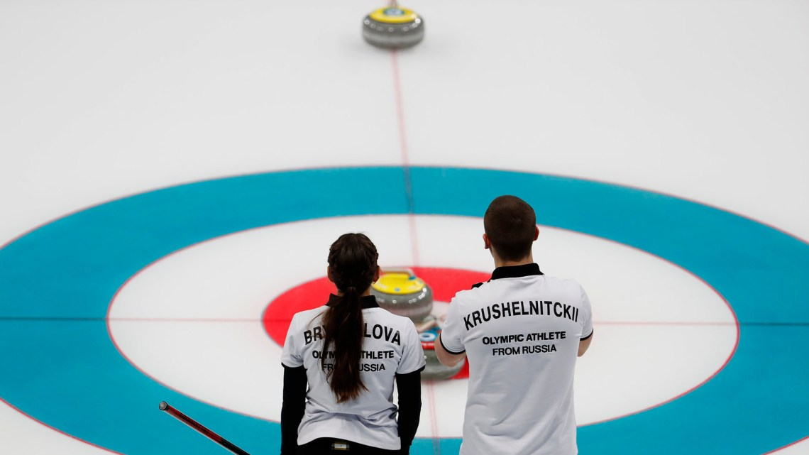 El curling en Pyeongchang 2018 (Reuters)