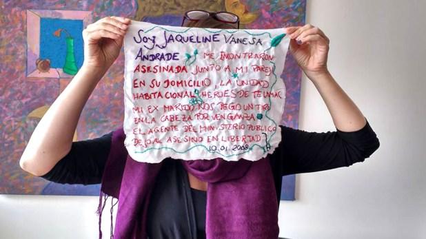 Los feminicidios en México han inspirado a grupos de mujeres que bordan las historias de la víctimas. (Foto: Bordando Feminicidios)