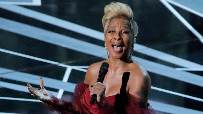 Mary Jane Blige entonó Mighty river, tema de la nominada Mudbound