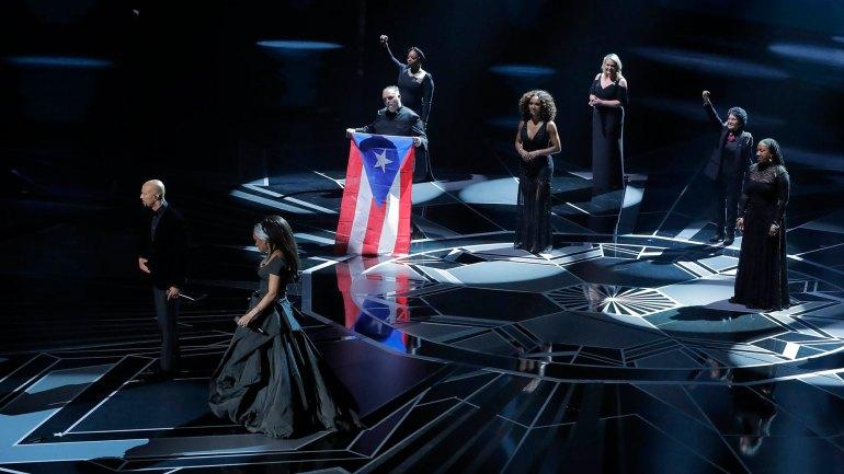 """Andra Day y Common interpretaron el tema """"Stand Up For Something"""", de la pelicula """"Marshall"""""""