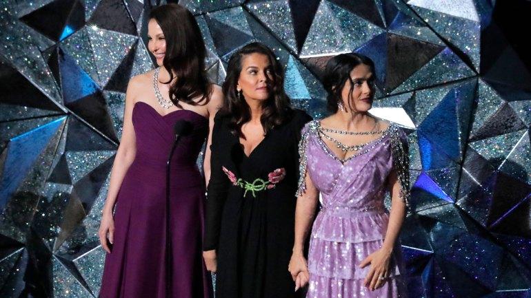 Ashley Judd, Annabella Sciorra y Salma Hayek, tres de las víctimas de Harvey Weinsten, se refirieron al movimiento Time's Up