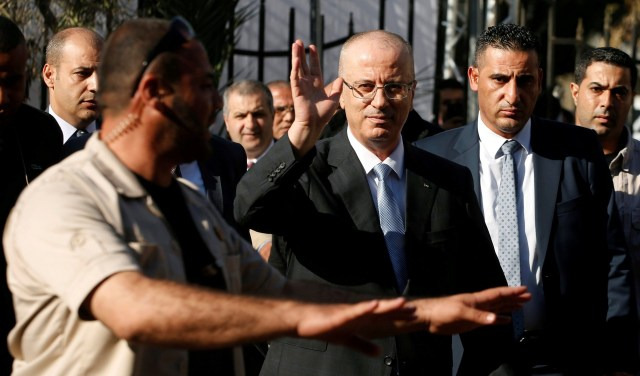 El primer ministro palestino, Rami Hamdallah (Reuters)