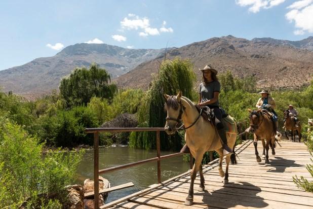 Coquimbo también ofrece la posibilidad de conocer sus paisajes a través de cabalgatas.