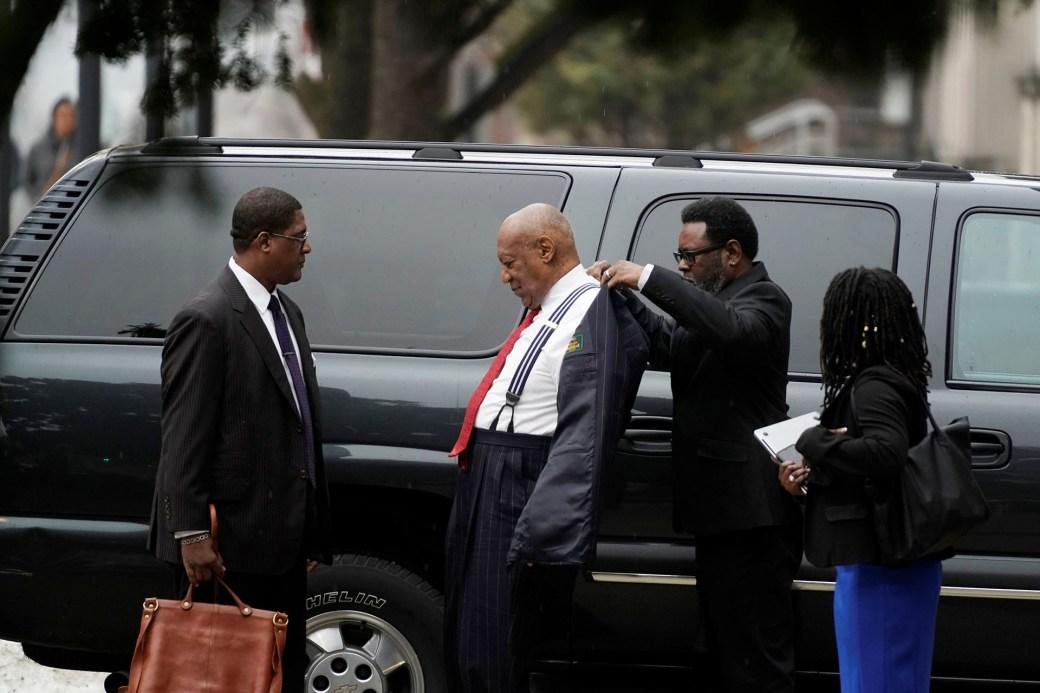 Bill Cosby en abril pasado cuando escuchó que era culpable de las tres acusaciones en su contra por abuso sexual (Reuters)