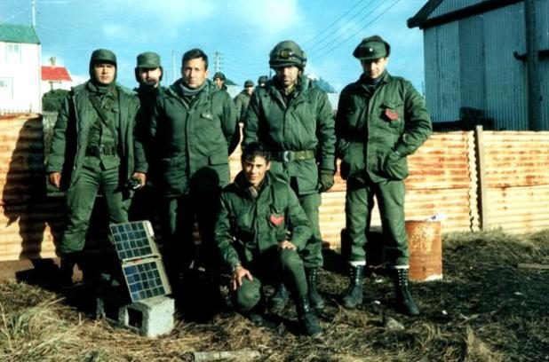 El Escuadrón Alacrán de Gendarmería en las Islas Malvinas