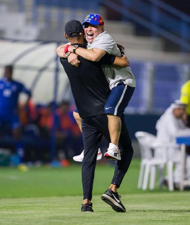 Maradona está totalmente enfocado en su trabajo como director técnico del Al Fujairah