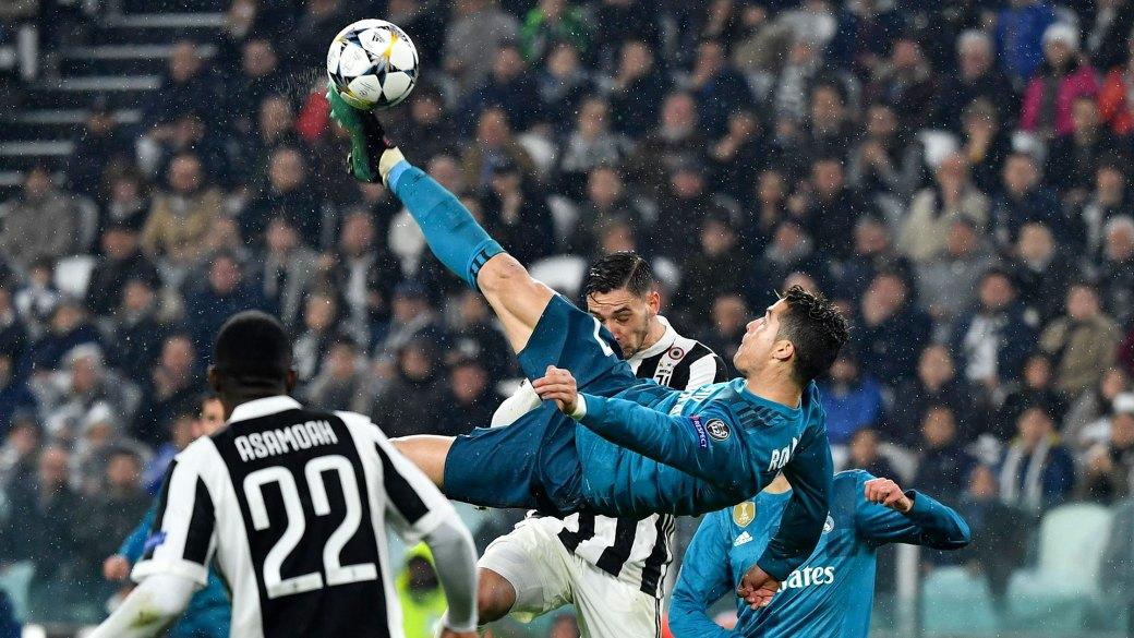 (AFP) Ante la Juventus, Ronaldo convirtió el mejor gol de su carrera