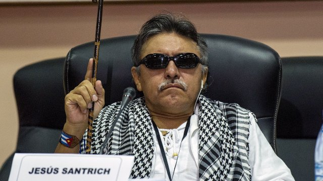Jesús Santrich fue capturado luego de un agente de la DEA se infiltrara en una reunión que mantuvo el exguerrillero con un cabecilla del mexicano Cartel de Sinaloa.