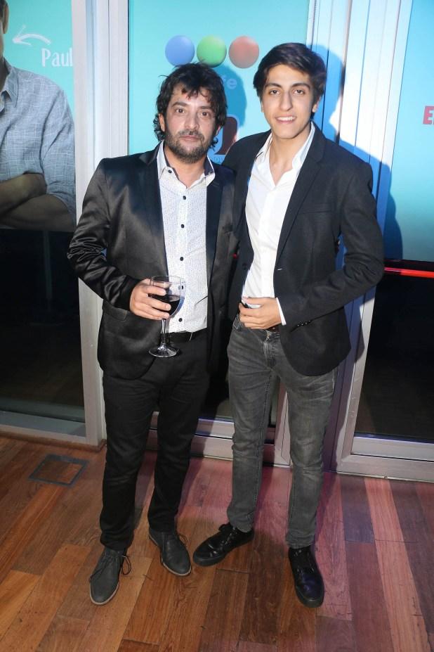 """Pablo Rago y Facundo Calvo (el hijo de Carlín Calvo) forman parte del elenco de """"100 días para enamorarse"""", la nueva apuesta de Telefe (Verónica Guerman / Teleshow)"""