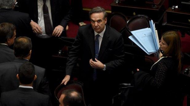 Miguel Ángel Pichetto: el senador peronista había enviado un ultimátum al Gobierno para presentar un proyecto alternativo sobre tarifas (Nicolás Stulberg)