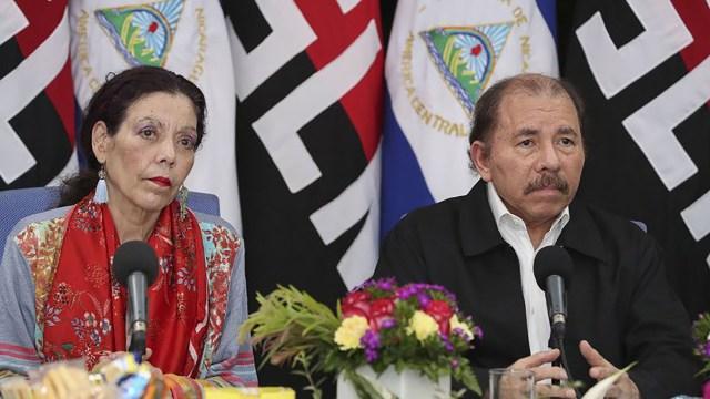 Rosario Murillo y Daniel Ortega. (Foto: Jairo Cajina)