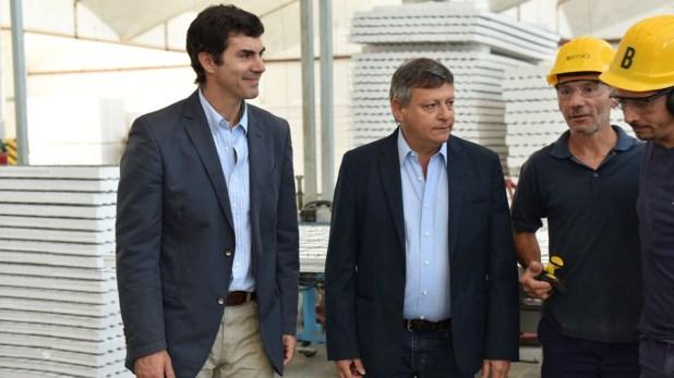 Juan Manuel Urtubey (Salta) y Domigo Peppo (Chaco)