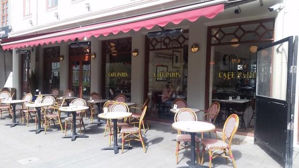 El tradicional café Paris