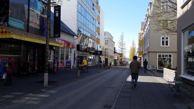 Negocios en las calles céntricas
