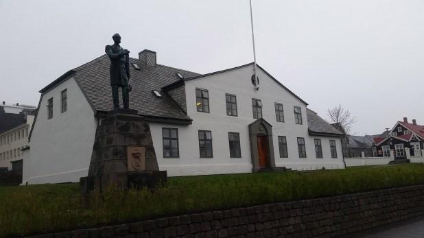 La casa de gobierno de Islandia