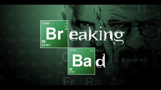 "Logotipo de la serie ""Breaking Bad"" (AMC/Sony Pictures)"