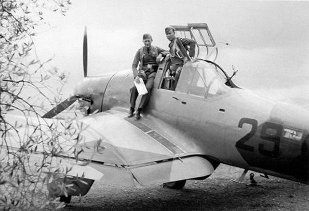 Primera versión del Stuka, era el Junkers J 87 A