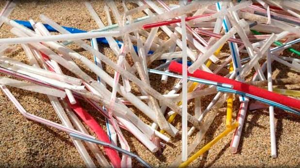 Los sorbetes son el cuarto residuo más común en los océanos y pueden tardar hasta 1000 años en descomponerse