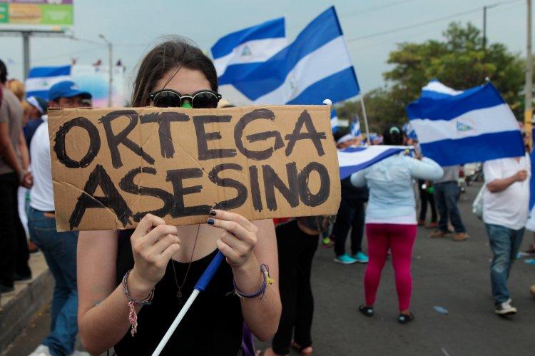 Las manifestaciones contra el régimen de Daniel Ortega en Nicaragua comenzaron el 18 de abril y la violenta represión ha dejado al menos 76 muertos (REUTERS/Oswaldo Rivas)