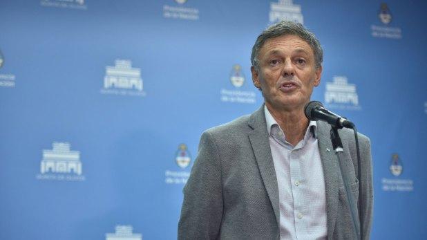 El ministro de la Producción, Francisco Cabrera (Guillermo Llamos)