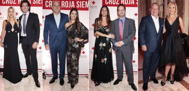 Carolina Oltra y Emanuel Moriatis, Martiniano Molina e Ileana Luetic, Malena Galmarini y Marco Lavagna, Gabriel Iezzi y Guchy Zappa
