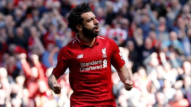 Mohamed Salah ha sido la revelación de la temporada y pide pista como aspirante al Balón de Oro (Reuters)