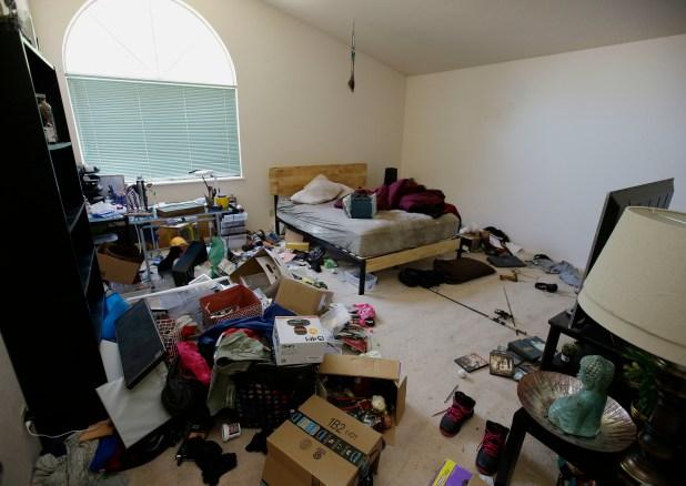 El estado de una de las habitaciones(AP)