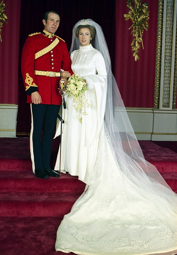 La princesa Ana – lahija de la Reina Isabel II y Mark Phillips