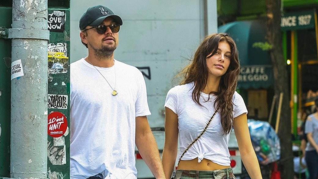 Leonardo DiCaprio y Camila Morrone (The Grosby Group)