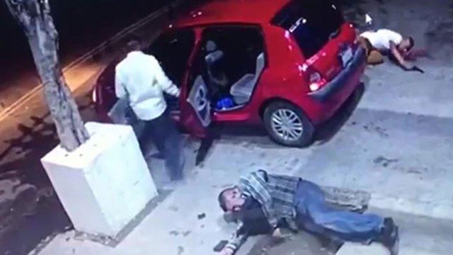 El agresor heridomurió en un hospital público, donde lo abandonó su acompañante