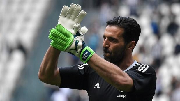 Fue una jornada muy emotiva en el Allianz Stadium con el adiós de Buffon (AFP)