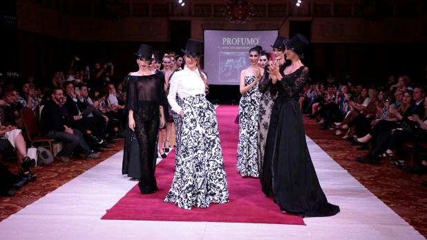 La diseñadora Patricia Profumo participó en el Silkey Mundial Moda & Coiffure 2018