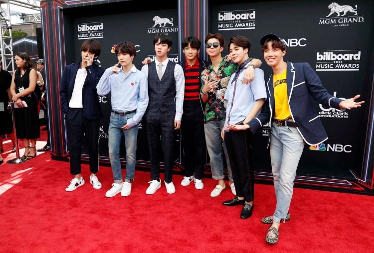 Grupo musical BTS (REUTERS/Steve Marcus)