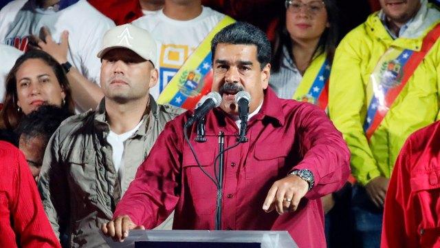 Maduro celebró el resultado pese a verse obligado a reconocer una participación históricamente baja (Reuters)