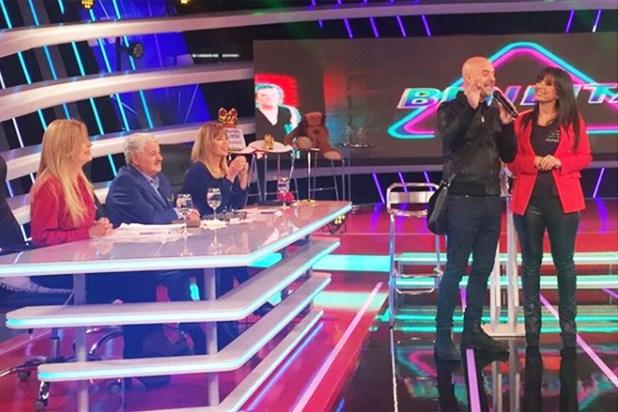 """Hermida, al frente de """"Bendita TV"""", que el lunes recibió la visita del Pelado López (Foto:Instagram)"""